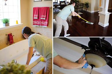 خدمات تنظيف المنازل