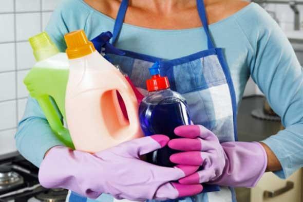 اخطاء شائعة عند تنظيف المنزل