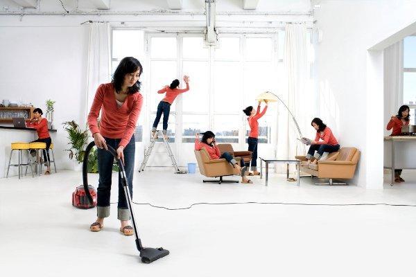 5 طرق غير تقليدية لتنظيف المنزل